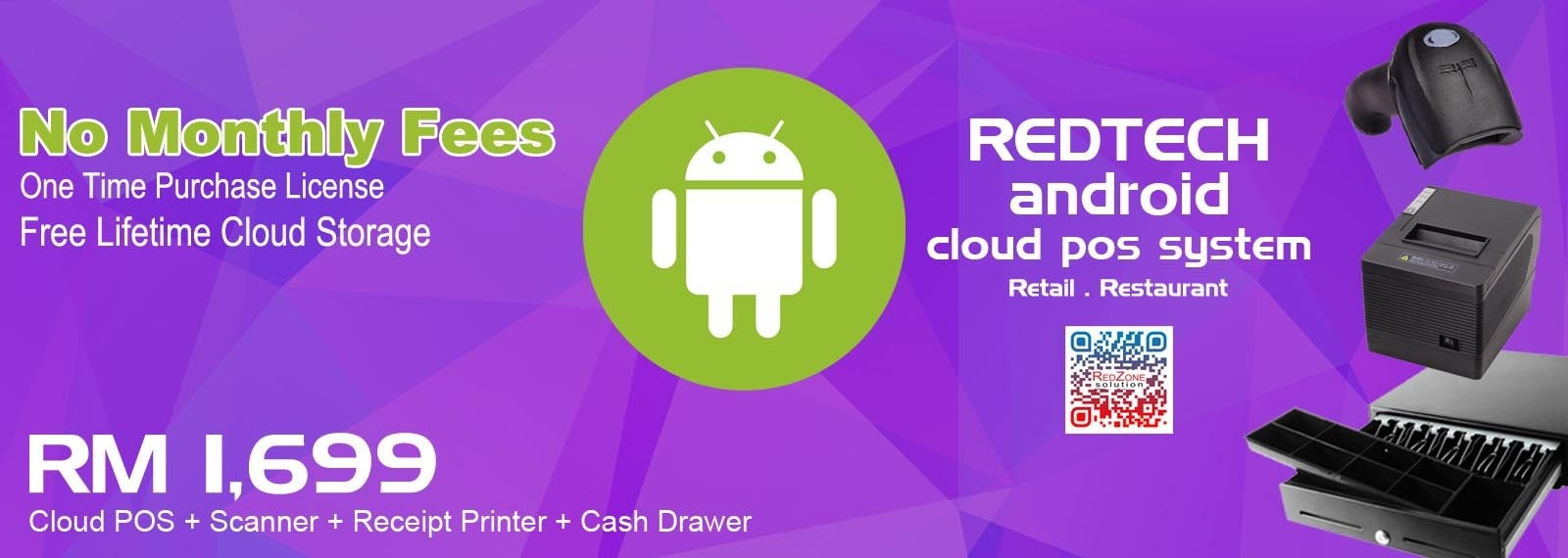 RedTech Android Cloud POS System