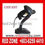 Code Soft CS1000 Laser Barcode Scanner with Stand