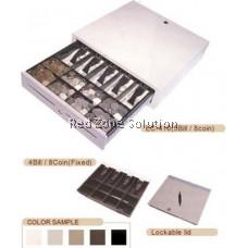 RJ-11 Cash Drawer - 5 bills / 8 coin - BLACK COLOR