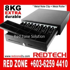 RJ-11 Cash Drawer - 5 bills / 8 coin - BLACK COLOR