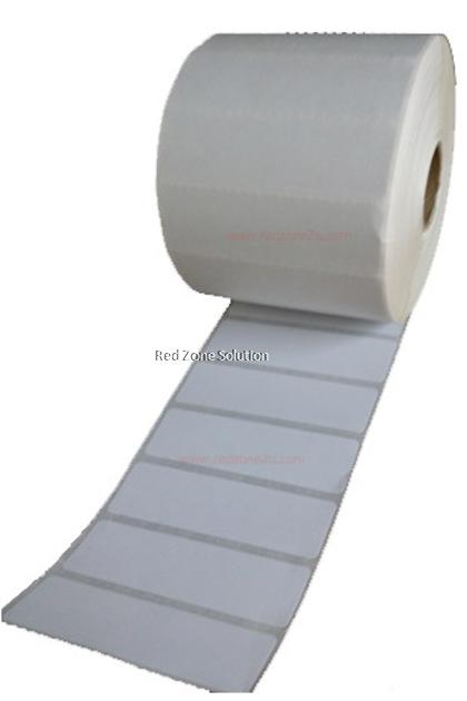 Artpaper label sticker 65x20mm