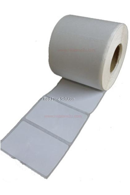Artpaper label sticker 85x55mm