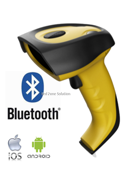 RedTech 9500 Bluetooth Laser Barcode Scanner-Support Android & iOS (Previous as RedTech 9600)