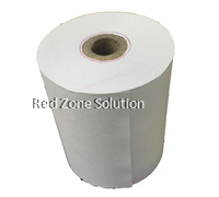 Dot Matrix Paper Roll for Receipt Printer : 76mm x 65mm : Per Roll