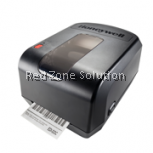 honeywell pc42t desktop printer (free installration + label + paper roll)