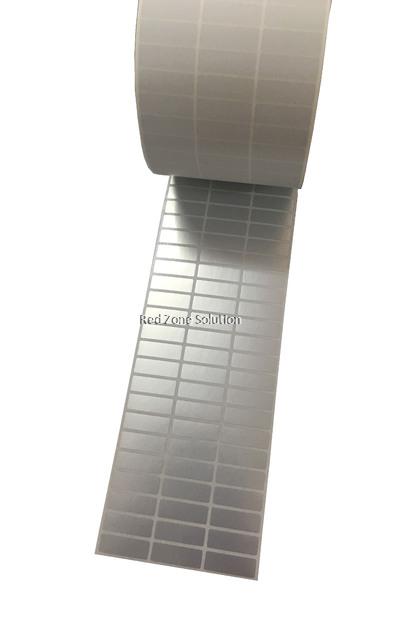30mm x 10mm Waterproof Label Sticker, Color : Silver, Pink, Gold, White, Transparent, Laser