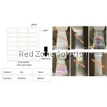 Water Proof Plain Color Sticker | 30x10MM  COLOR :  SILVER , PINKY , GOLD , P.WHITE , CLEAR ,LASER , 28METER
