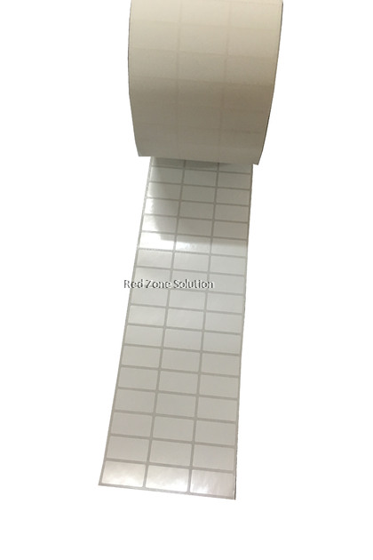 30mm x 15mm WaterProof Label Sticker, Color : Silver, Pink, Gold, White, Transparent, Laser