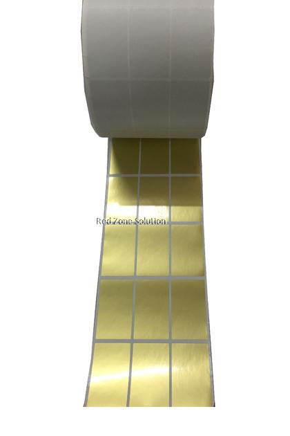 30mm x 50mm Waterproof Label Sticker, Color : Silver, Pink, Gold, White, Transparent, Laser