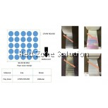 WATER PROOF PLAIN COLOR STICKER SIZE: 17MM COLOR : SILVER , PINKY , GOLD , P.WHITE , CLEAR ,LASER, 28METER