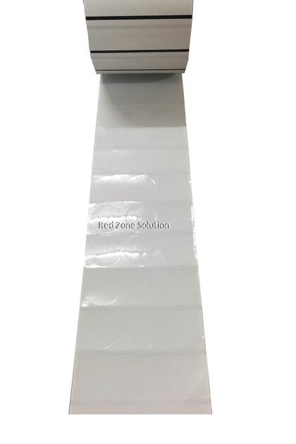30mm Round Shape Waterproof Label Sticker, Color : Silver, Pink, Gold, White, Transparent, Laser