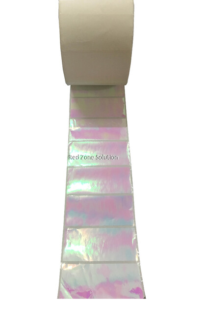90mm x 40mm Waterproof Label Sticker, Color : Pink, Gold