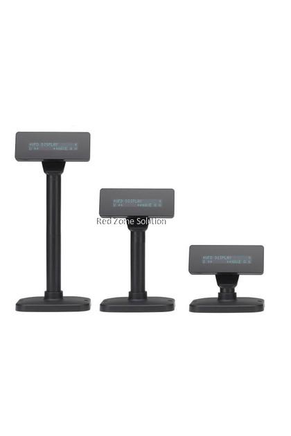 RedTech V220H VFD Slim Customer Pole Display - 2 line x 20char