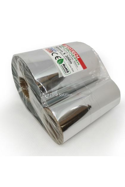 REDTECH EUROWAX 80*300m PREMIUM QUALITY Wax Barcode Ribbon