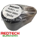 REDTECH EUROWAX -  PREMIUM QUALITY WAX BARCODE RIBBON 60*300METER