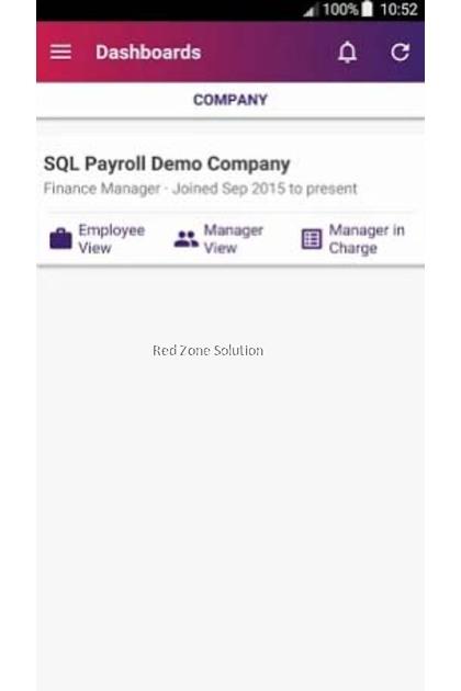 SQL Payroll Software : Online Mobile e-Leave e-Claim