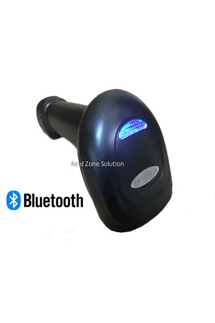 RedTech 8002BT 2D QR Code Bluetooth Laser Scanner [Support SmartPhone & PC]