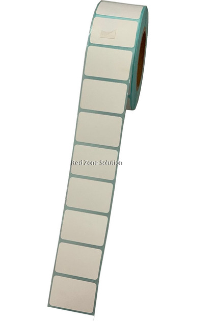 Direct Thermal Label Sticker - 30x20mm, 1000pcs/roll