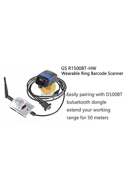 GeneralScan GS R1500BT-HW Bluetooth Ring Barcode Scanner