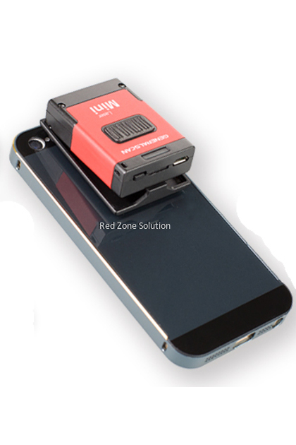 GeneralScan GS M100BT-HP Laser Mobile Bluetooth Barcode Scanner