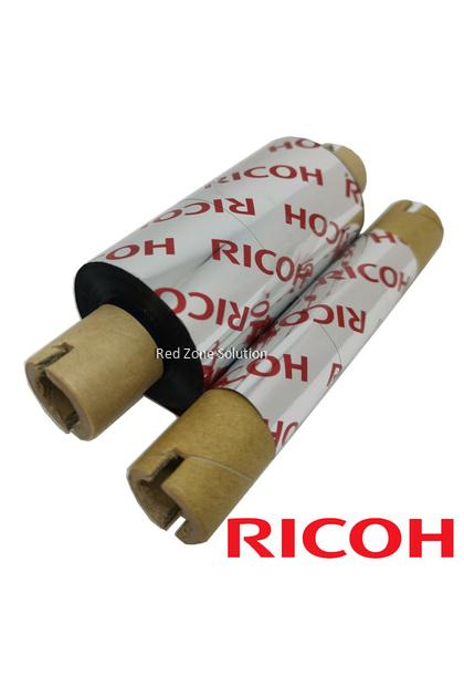 Ricoh Wax Resin 56*100m Water Proof Thermal Transfer Barcode Ribbon