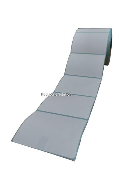Direct Thermal Label Sticker - 80x60mm, 500pcs/roll