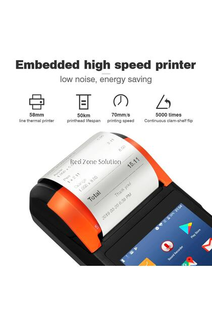 SUNMI V2 Mobile Handheld Terminal With Printer