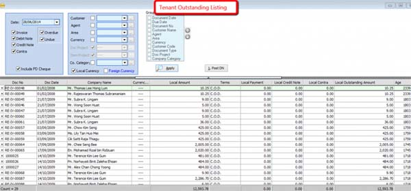 SQL Building Management System-OutStanding